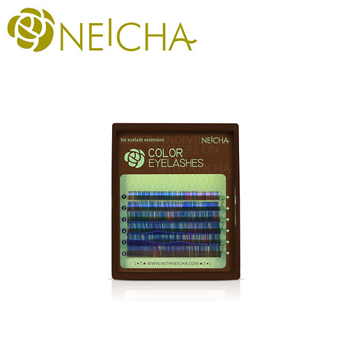NEICHA Colorful Lash Blue mix mini