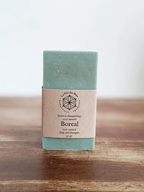 Herboristerie la fée des bois - Savon et shampoing boréal (150g)