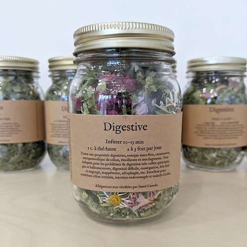 Herboristerie la fée des bois - Tisane digestive (35g)