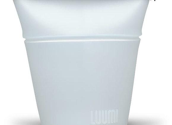 LUUMI Sac-bol de silicone platinum (grand)