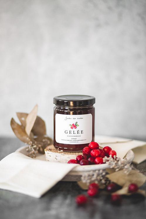 Jardin des érables - Gelée d'érable aux canneberges - 250 ml