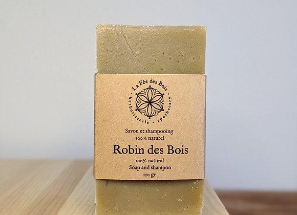 La fée des bois - Savon et shampoing Robin des Bois