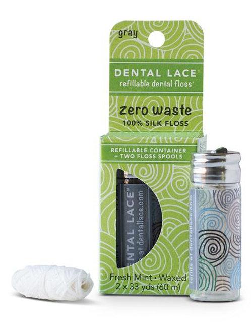 Dental lace - Soie dentaire compostable dental lace - menthe fraîche