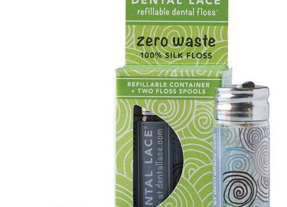 Soie dentaire compostable Dental Lace - menthe fraîche