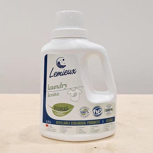 Lemieux - détergent á lessive (1,5 litres)