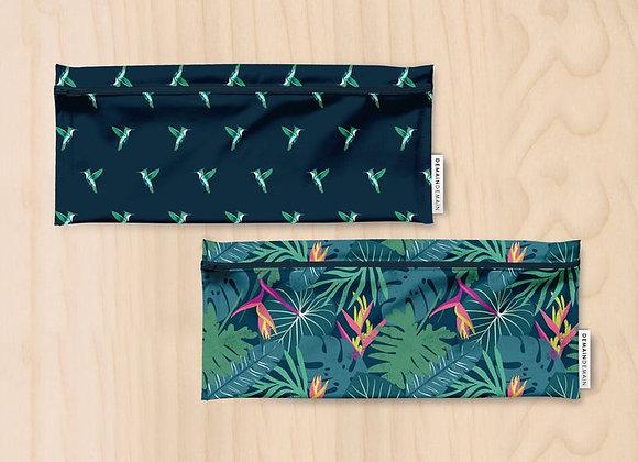 Demain Demain - Duo long, sacs imperméables forêt tropicale