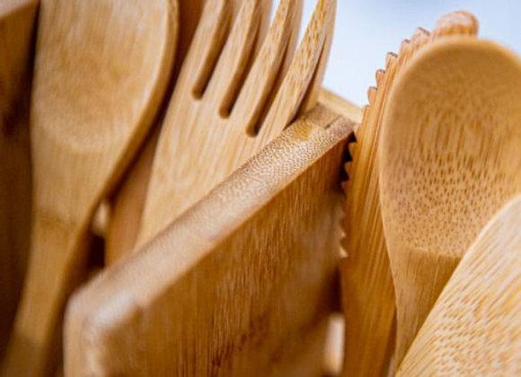 OLA Bamboo - Ustensiles en bambou à l'unité