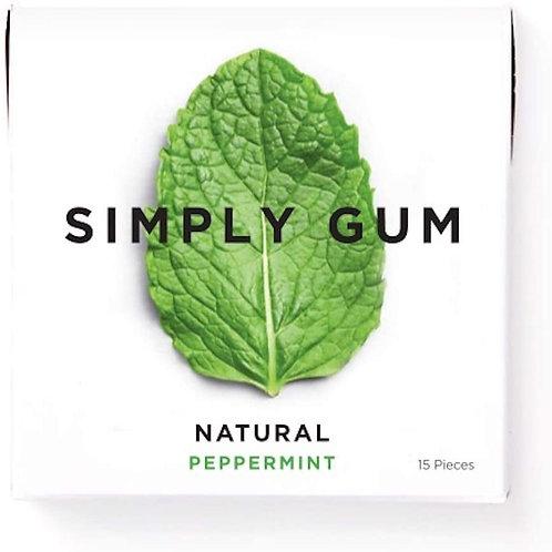 Simply Gum - Gomme à mâcher sans plastique 100% naturelle et biodégradable