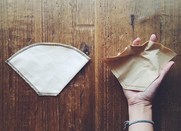 CoffeeSock - Filtres à café réutilisables #4 en coton bio