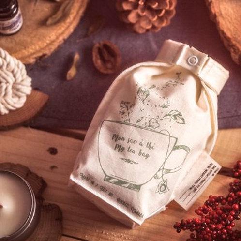 Okö créations - Sac à thé réutilisable de chanvre