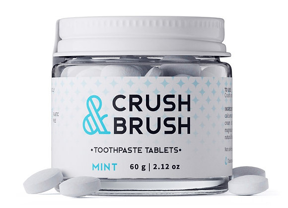 Crush & Brush - Dentifrice en comprimés (75)