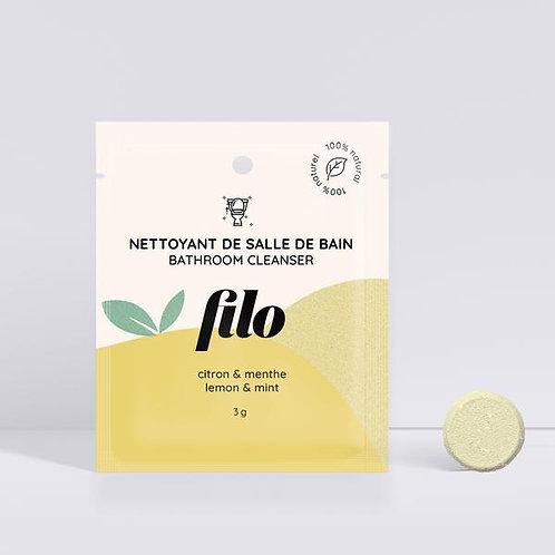 FILO - Nettoyant à salle de bain en pastille