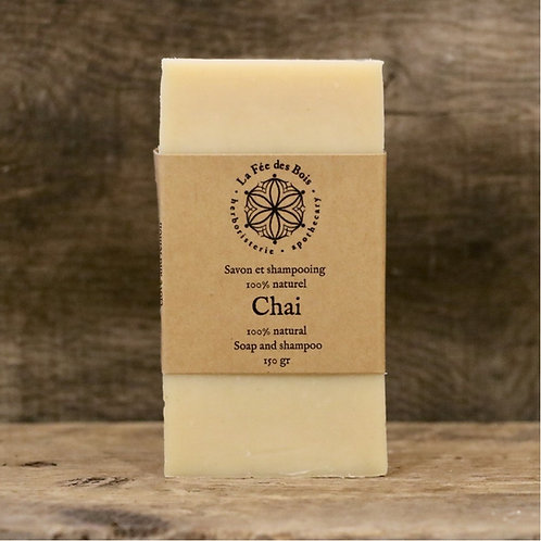 La fée des bois - Savon et shampoing Chai