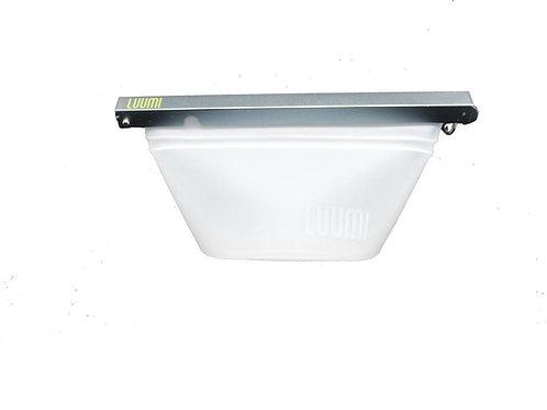 LUUMI Sac-bol de silicone platinum (court)