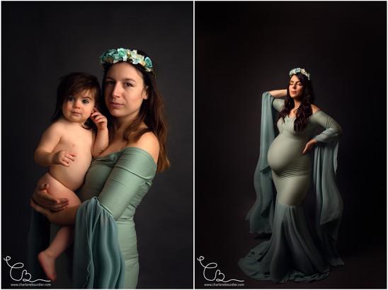 Photographe grossesse et famille Isere e