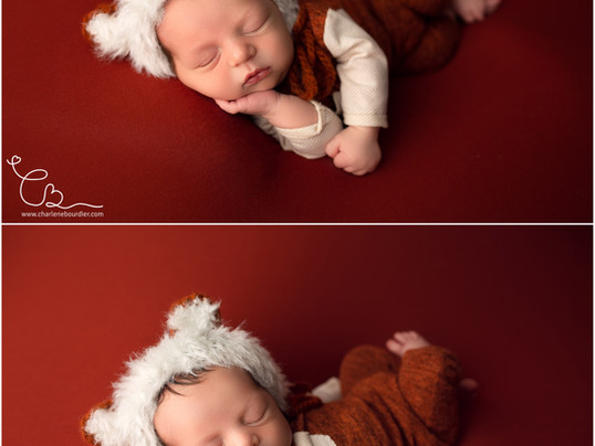 La séance nouveau-né de Raphaël - Photographe spécialisée dans les nouveaux-nés en Isère