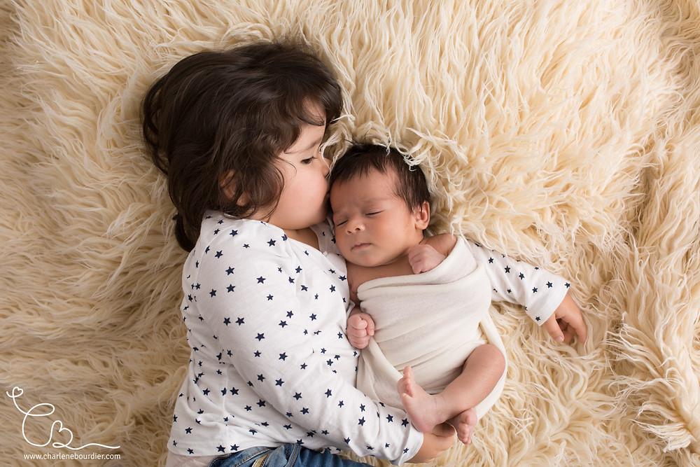 Séance photo frère soeur bébé Grenoble