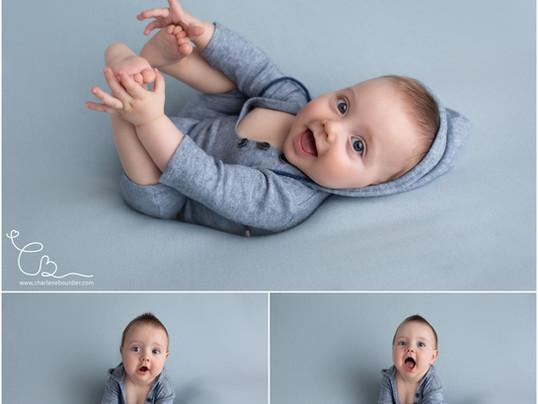Séance photo bébé d'Arthur, 8 mois - Photographe bébé près de Chambéry en Savoie