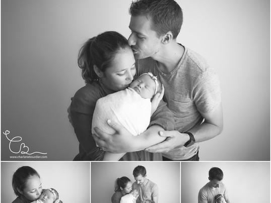 La séance nouveau né de Capucine - Photographe bébé aux Abrets en Isère