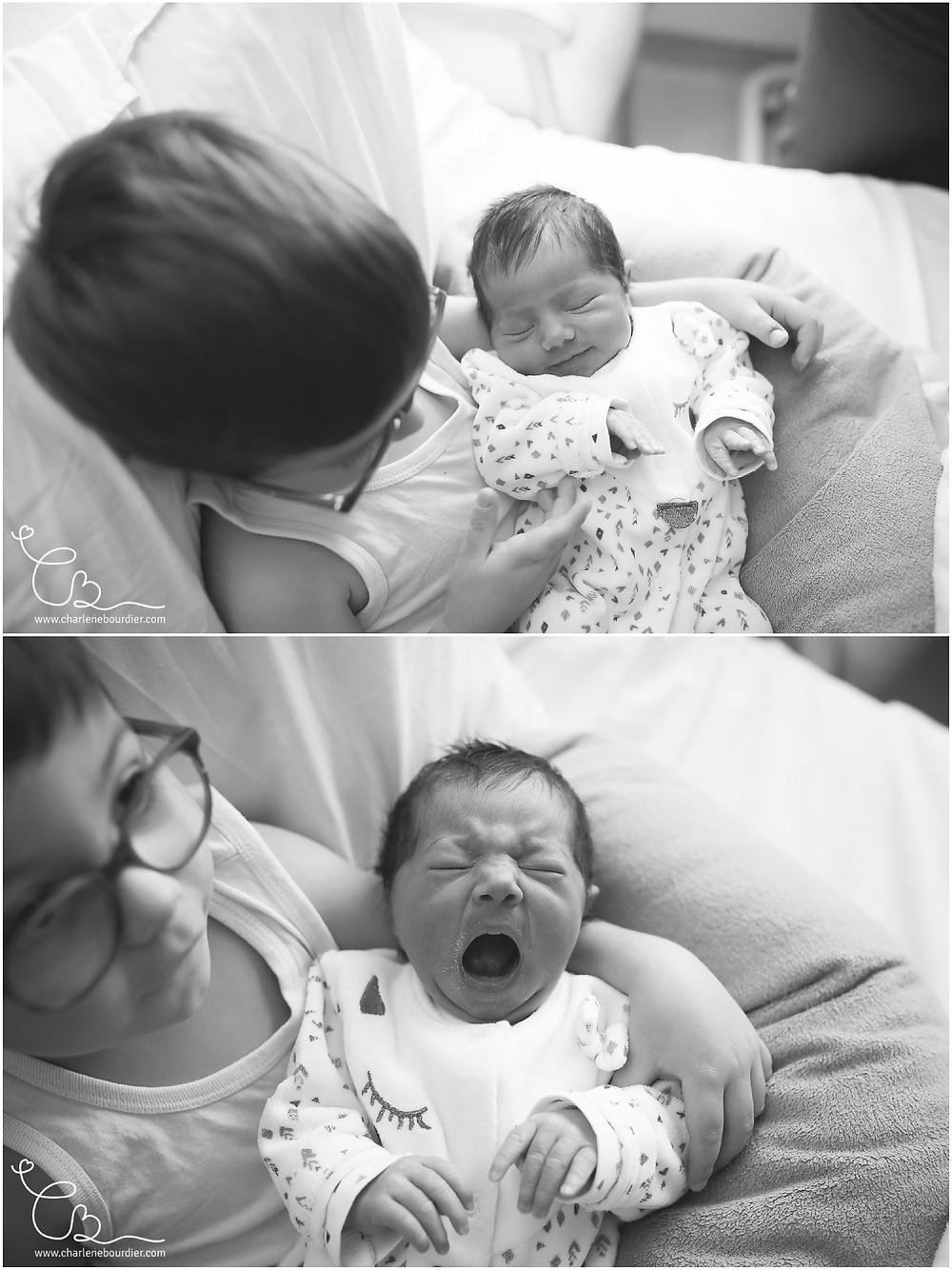 Photographe naissance à la maternité de Bourgoin