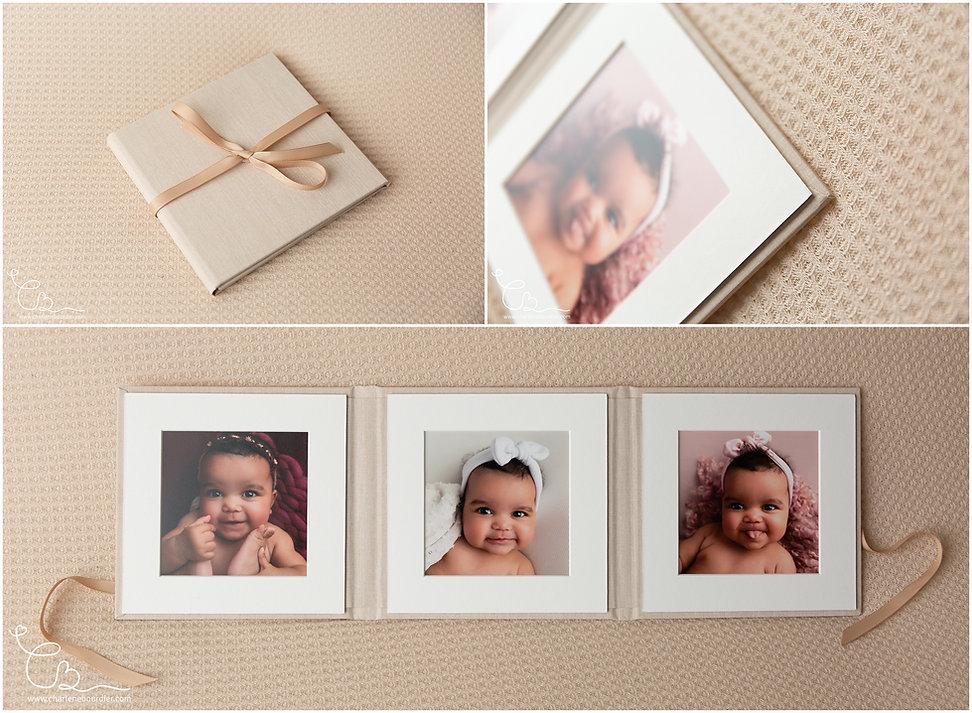 Souvenir folio photo bébé