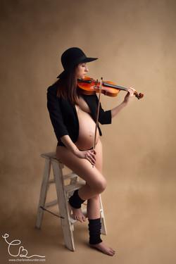 Femme_Enceinte_Violon_Grossesse_Lyon-2