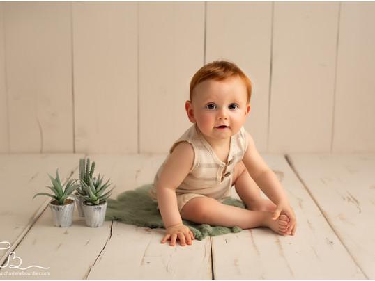 La séance bébé d'Evan - 12 mois - Photographe bébé en Isère