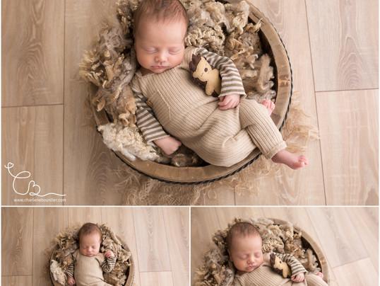 La séance naissance d'Arthur - Photographe nouveau né et bébé en Isère et Savoie