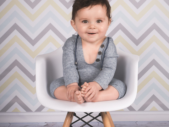 Séance photo bébé - Lilio, 9 mois - Photographe bébé à La Tour du Pin, Isère 38