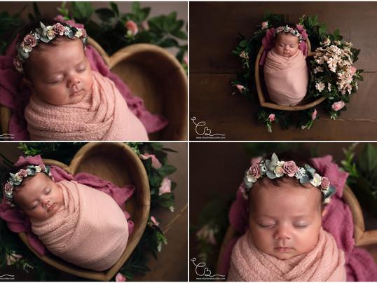 La séance nouveau-né de Daphnée - 6 semaines - Photographe nouveau-né en Isère
