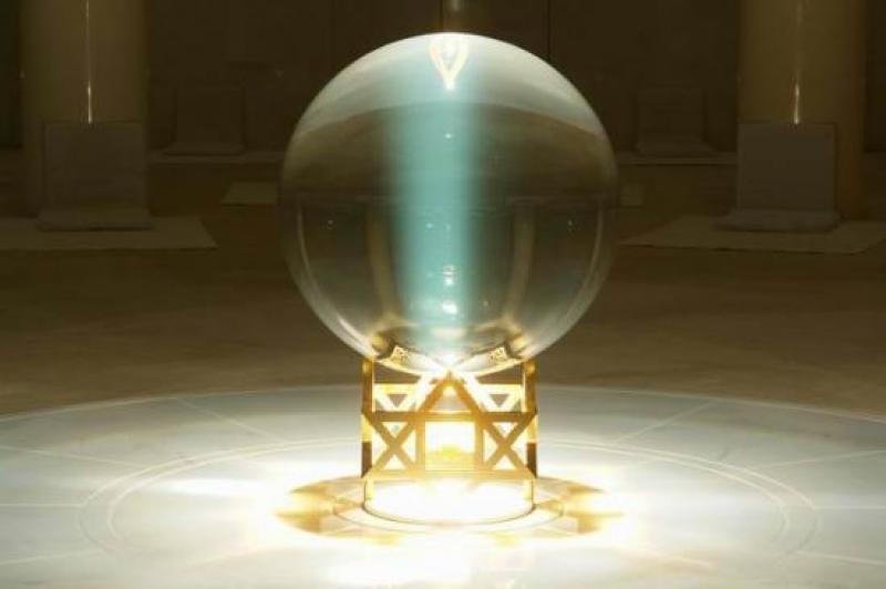 Матри-мандир кристал