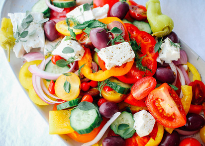 Crisp and Crunchy Greek Salad