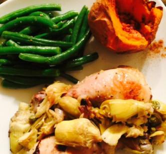 Lemon Artichoke Chicken - Paleo