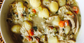 Homemade Chicken Soup...the real deal!