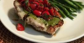 Margherita Chicken with a Twist