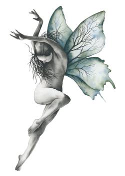 Human butterfly