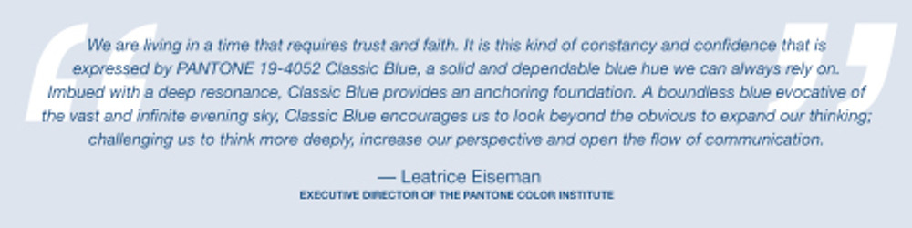 Årets färg bild 1 pantone-color-of-the-year-2020-classic-blue-lee-eiseman-quote