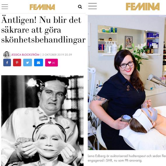 Artikel i Femina