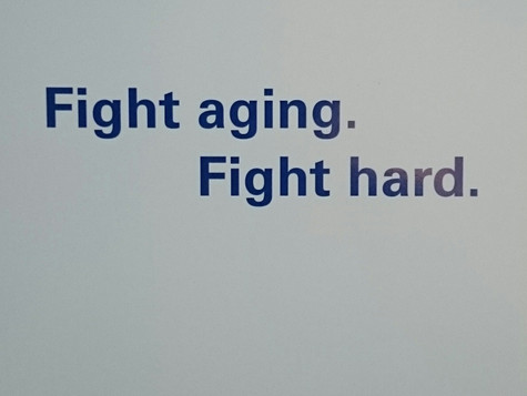 Fight aging – fight Hard