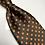 Thumbnail: Orange Polka-Dots Tie & Pocket Square Set