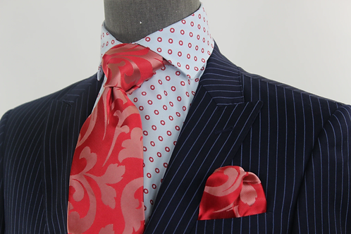 GIZA - 4 TIE & POCKET SQUARE