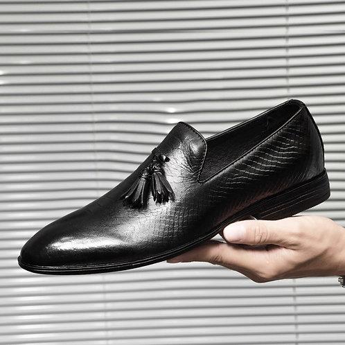 Men Leather Oxfords Dress Shoes