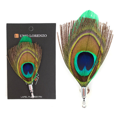 Mens Peacock Feather Lapel Green.jpg