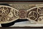 Wooden Bowtie Jules Verne, Jr.