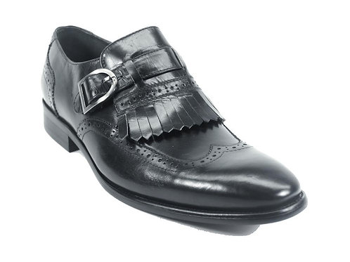 Carrucci Removable Kiltie Buckle Loafer