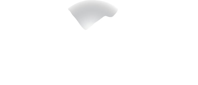 The Arcanum Group Logo A Government Solutions Company Delivering Management Staffing Technology Services