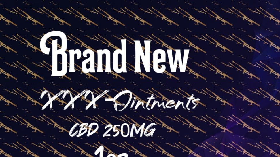 XXX-CBD OINTMENTS