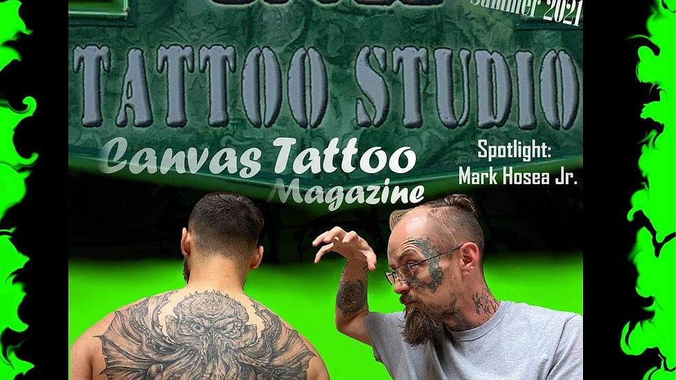 Canvas Tattoo Magazine Summer 2021 Pre order