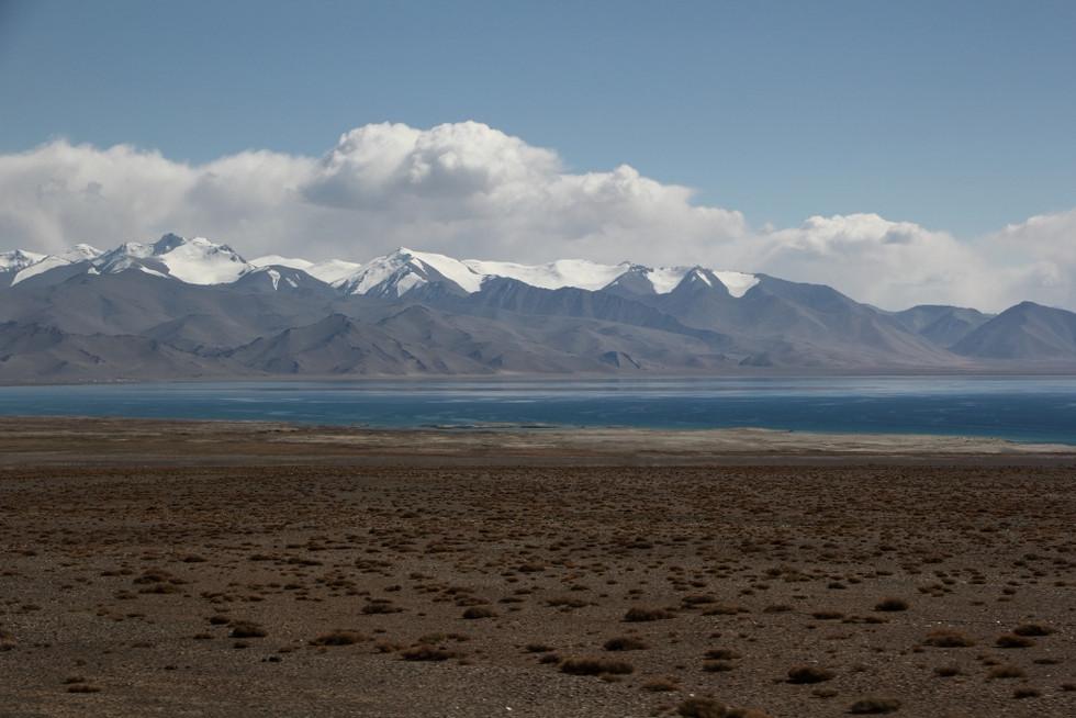 2017. gada 2. septembris. Kirgizstāna un Tadžikistāna. Ceļā no Sary Tash uz Murgābu. Robežsargs - pr