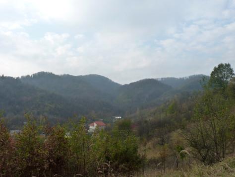 2013. gada 2. novembris. Jauniešu apmaiņa Rumānijā. 7. diena.  Kalnu iepazīšana un čigānu būdas
